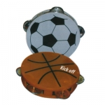Soccer and Basketball  Tambourine
