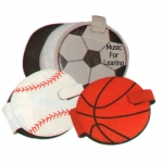 Baseball , Soccer and Basketball CD Holder