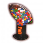 Baseball , Football , Soccer and Basketball Bubble Gum Machine