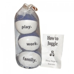Leatherette II Juggling kit